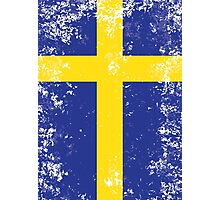 Flag of Sweden Photographic Print
