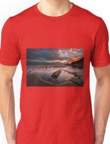 Rock Pool Sunset Unisex T-Shirt