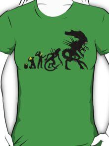 Alien Evolution (NO TEXT) T-Shirt