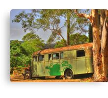 The Old School Bus Canvas Print