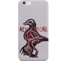 """""""Nevermore."""" iPhone Case/Skin"""