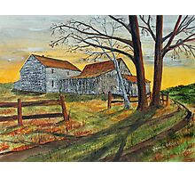 Drafty Old House Photographic Print