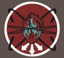 Burning Bound Emotion - Red/Blue by reidic