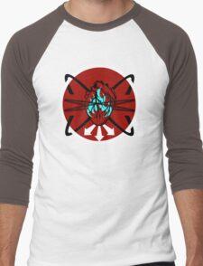Burning Bound Emotion - Red/Blue Men's Baseball ¾ T-Shirt