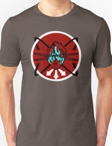 Burning Bound Emotion - Red/Blue T-Shirt