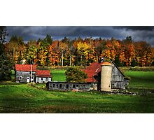 Old McDonalds Farm Photographic Print