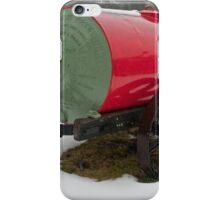 Little Red Water Cart iPhone Case/Skin