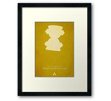 Phantom HourGlass Framed Print