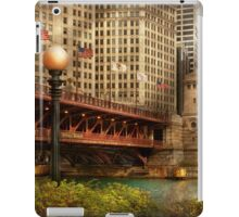 Chicago, IL - DuSable Bridge built in 1920  iPad Case/Skin