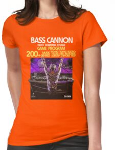 2600 Bass Cannon Womens Fitted T-Shirt