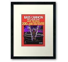 2600 Bass Cannon Framed Print