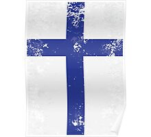 Flag of Finland Poster
