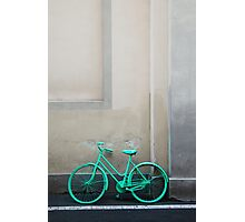 Green Cycle Photographic Print