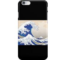 The Great Wave off Kanagawa - Hokusai iPhone Case/Skin