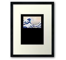 The Great Wave off Kanagawa - Hokusai Framed Print