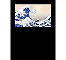 The Great Wave off Kanagawa - Hokusai Photographic Print