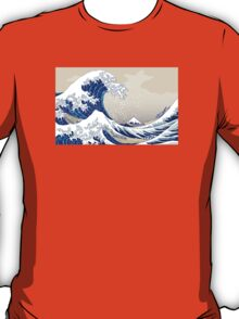 The Great Wave off Kanagawa - Hokusai T-Shirt