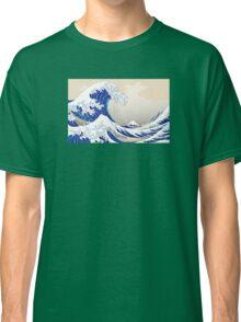 The Great Wave off Kanagawa - Hokusai Classic T-Shirt