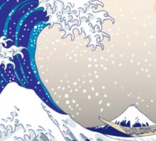 The Great Wave off Kanagawa - Hokusai Sticker