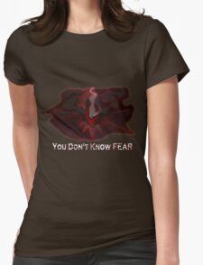 Pokemon- Fear Womens Fitted T-Shirt