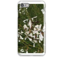 fiery flowers - spicy blossom iPhone Case/Skin