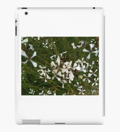 fiery flowers - spicy blossom iPad Case/Skin