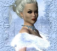 Portrait of the White Witch by OFWDesigns
