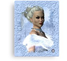 Portrait of the White Witch Canvas Print