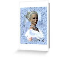 Portrait of the White Witch Greeting Card