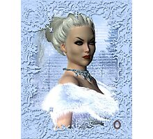 Portrait of the White Witch Photographic Print