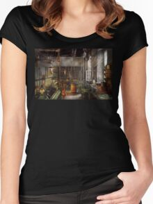 Machinist - Lathes - Machinists paradise Women's Fitted Scoop T-Shirt