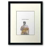 The Father of Dinosaurs. Framed Print