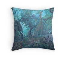 Bremen Intersection. Throw Pillow