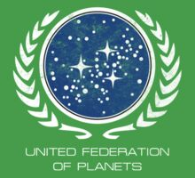 United Federation of Planets Kids Clothes