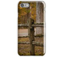 The Old Rail Fence iPhone Case/Skin