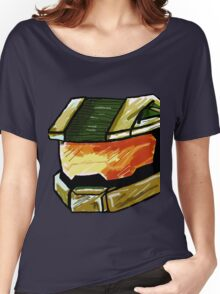 Master Chief Sketch Women's Relaxed Fit T-Shirt