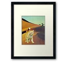 Dune Warrior Framed Print