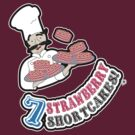 7 Strawberry Shortcakes! by thickblackoutline