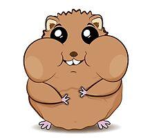 Hamster by Deividart