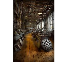 Machinist - Lathes - The original Lather Disc  Photographic Print