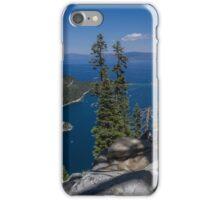 High Above Emerald Bay iPhone Case/Skin