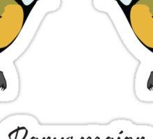 Great Tits - Parus major Sticker