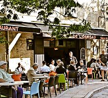 Morning coffee in southern France by KSKphotography