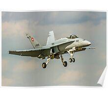 McDonnell Douglas F/A-18C Hornet J-5005 Poster
