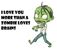 Geek Love: More than a Zombie Loves Brains by GeekNative