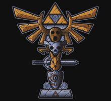 Masks Totem by Letter-Q