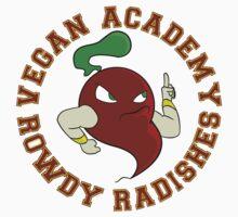 Vegan Academy Rowdy Radish One Piece - Short Sleeve