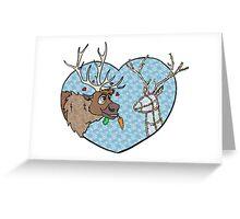 Reindeer Love Greeting Card