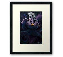 Beautevil Villain Framed Print