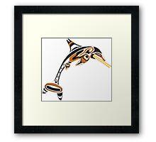 Kwakwaka'wakw ichthyosaur Framed Print